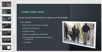 Complete Forensics Unit 3: Crime Scene Investigation (Unit Plan and Resources)