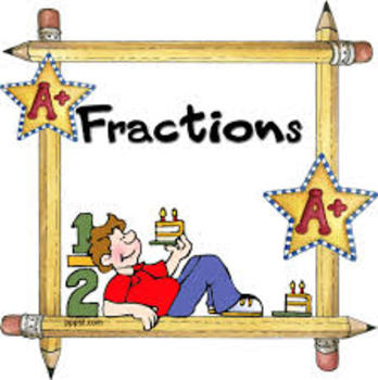 Complete Fraction Unit 3rd grade