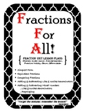 Fraction Unit - Eleven Lessons