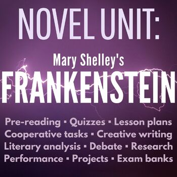 Complete Frankenstein Unit and Teacher Guide