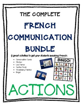 Complete French Communication Bundle - ACTIONS