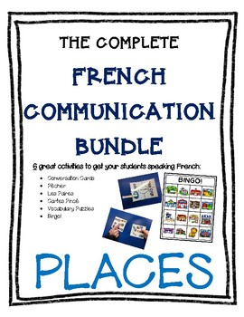 Complete French Communication Bundle - Places