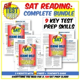 Complete Fun SAT Prep Reading BUNDLE: 9 Key Test Prep Read