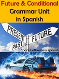 Complete Future and Conditional Grammar Packet in Spanish