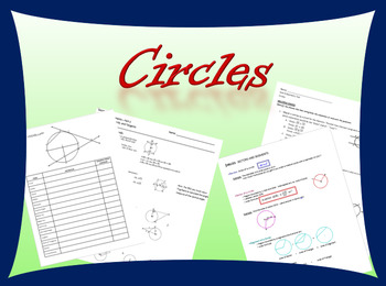 Complete Geometry Unit on Circles including notes