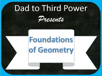 Complete Geometry Unit on Foundations of Geometry including power points