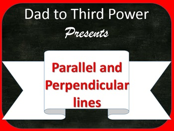 Complete Geometry Unit on Parallel and Perpendicular lines