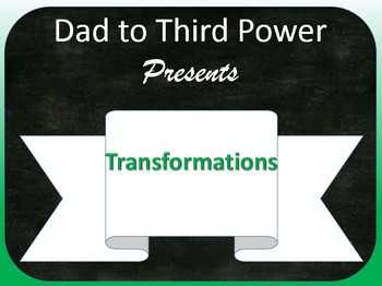 Complete Geometry Unit on Transformations Including Powerpoints