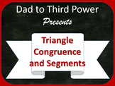 Complete Geometry Unit on Triangle Congruence and segments in a triangle w/ PPTs