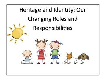 Complete Grade 1 Ontario Social Studies Inquiry-Based Unit (Heritage)