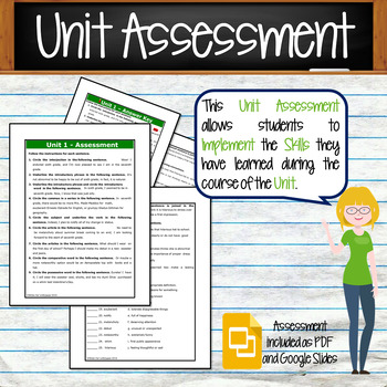GRAMMAR & VOCABULARY PROGRAM - 7th Grade - Standards Based – Unit 1