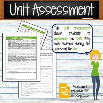 GRAMMAR & VOCABULARY PROGRAM - 6th Grade - Standards Based – Unit 2