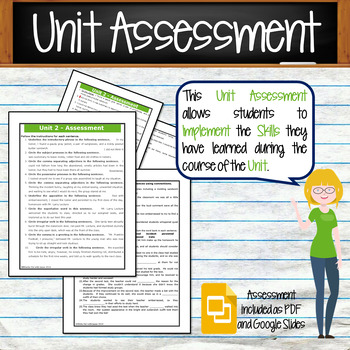 GRAMMAR & VOCABULARY PROGRAM - 7th Grade - Standards Based – Unit 2
