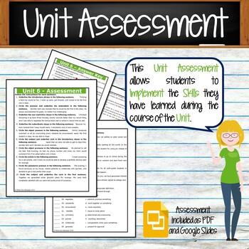 GRAMMAR & VOCABULARY PROGRAM - 6th Grade - Standards Based – Unit 6
