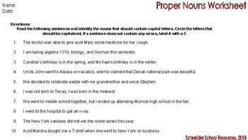 Complete Grammar Worksheet Bundle for Middle and High School