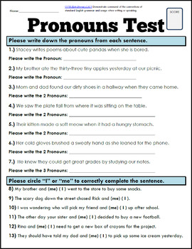Complete Grammar and Punctuation Practice + Test Bundle