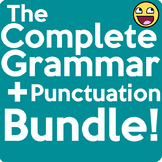 Complete Grammar and Punctuation Practice + Test Bundle (Distance Learning OK!)