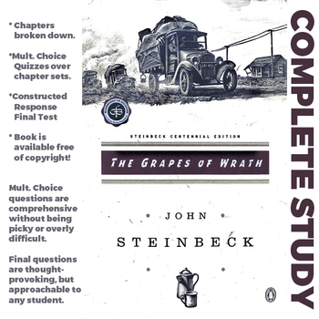 Complete Grapes of Wrath Materials