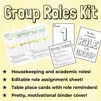 Group Roles Kit