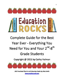 Complete Guide for the Best Year Ever for Your 2nd-8th Grade Students