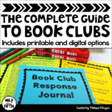 Book Club Complete Guide for Upper Elementary & Middle School-Distance Learning