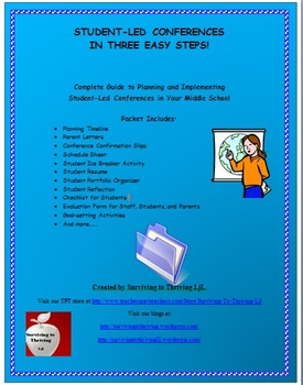 Student Led Conferences for Middle School: A Guide for Planning & Implementing