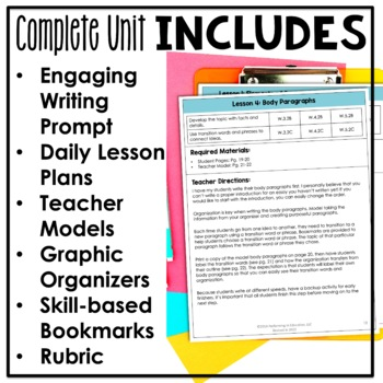 Complete Guide to Teaching Explanatory Writing Grades 4-5