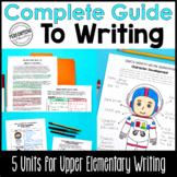 4th & 5th Grade Writing Units - Print & Google Bundle | distance learning