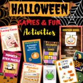 Complete Halloween Games And Activities Bundle