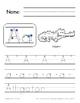 Complete Handwriting Alphabet