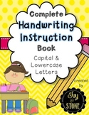 Complete Handwriting Instruction Book Capital and Lowercase Letters