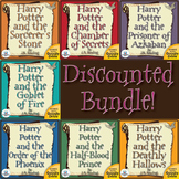 Harry Potter Novel Study Bundle CD