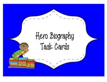 Complete Hero UbD Unit ~ 4th Grade Literary & Real Heroes