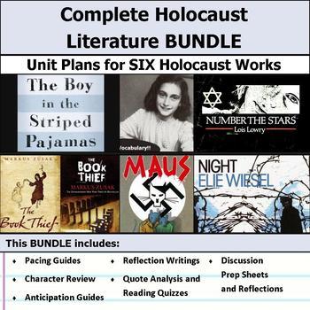 Complete Holocaust Literature Unit Plan