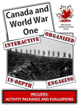 Homeschool Canadian History Course: (1914 - 2015) Innovative and In-depth!