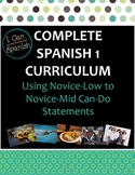 "Full Year ""I Can"" Spanish 1: IPA-Style Curriculum"