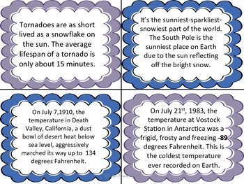 Complete IB PYP Inquiry Science Activities  Extreme Weather & Global Warming