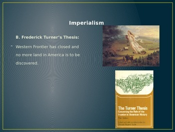 Complete Imperialism and World War One PowerPoint