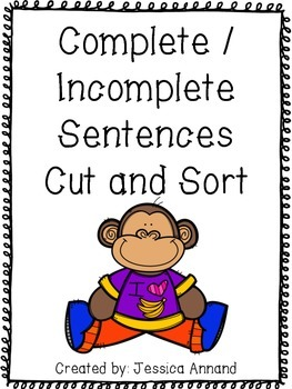 Complete Incomplete Sentence Cut and Sort