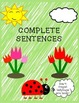 Complete & Incomplete Sentence Sorting Activity