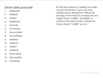 Complete Individualized Spelling Program - Words Their Way Based!