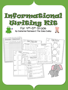 Complete Informational Writing Kit