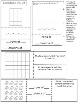 Engage New York Math Aligned Interactive Notebook: Grade 2, Complete Year Bundle