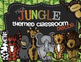 Complete Jungle Themed Classroom Decor