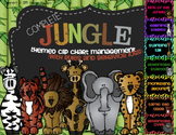 Complete Jungle Themed Clip Chart System