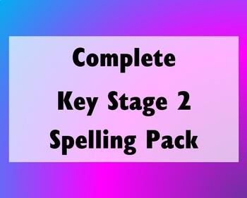 Complete Key Stage 2 (KS2) Spelling Pack