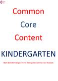 Complete Kindergarten Common Core Math Worksheet Package ALL STANDARDS