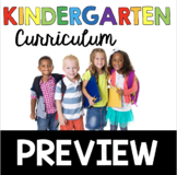 Complete Kindergarten Curriculum Preview - What is included?
