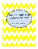 Complete Kindergarten Math Assessment