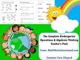 Complete Kindergarten Operations & Algebraic Thinking Teacher's Pack